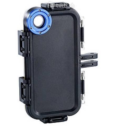 Outdoor-Gehäuse mit Brustgurt für iPhone 5/5s/SE