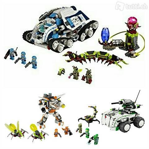 Lego 3x Galaxy Squad, Megaset, Transformer