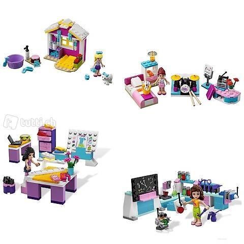 Lego 4x Friends, Pack 24, Workshop, Zimmer, Lamm