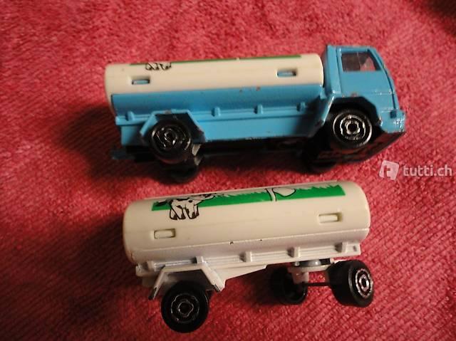 FORD Lastwagen mit Anhängerr Milchwagen
