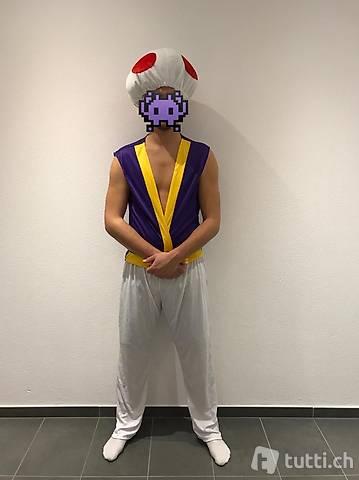 Vestito carnevale fungo