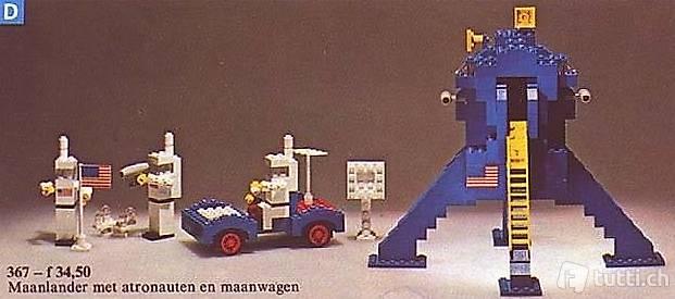 Lego 367 Moon Landing, 1975, Mondlandung (556)