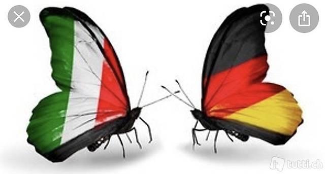 Lezioni di tedesco e traduzioni / interpretariato ita- ted
