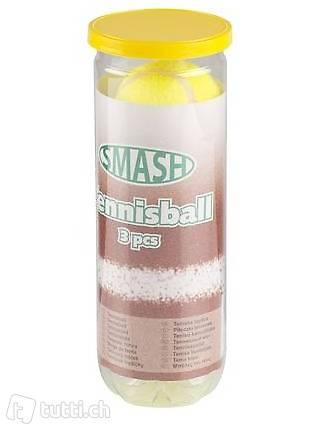 Optitrade Tennisbälle Smash 3er Pack (gelb)