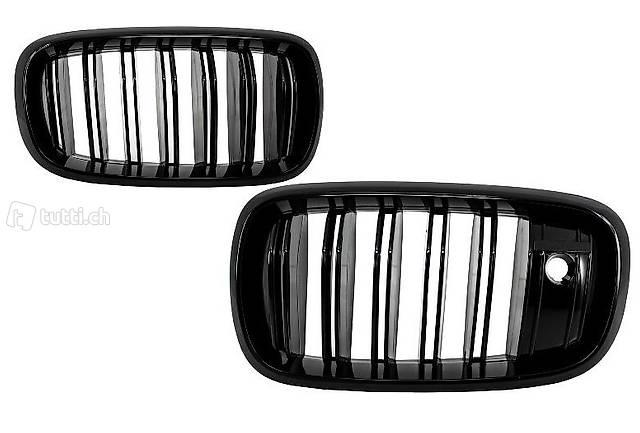 Nieren Schwarz Glanz Night Vision Cam BMW X5 F15 X6 F16