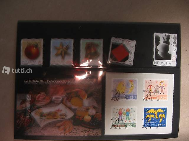 Briefmarken Serie 2008
