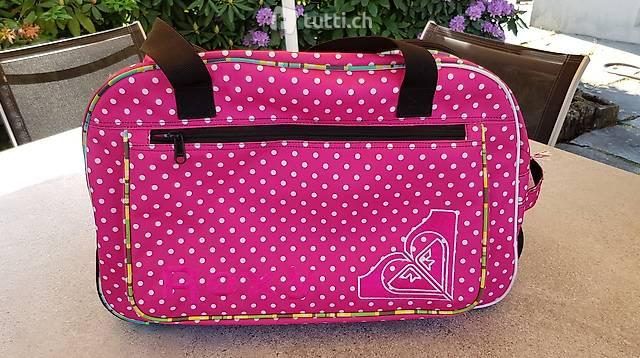ROXY Pink Roller Reisetasche