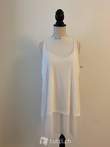 Zara Shirt weiss S