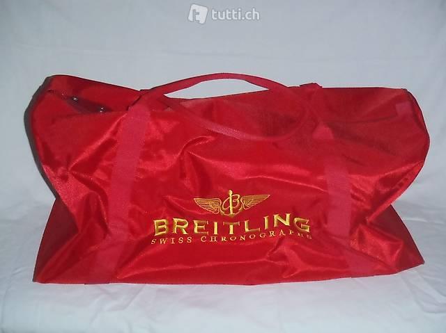 Breitling Reisetasche, Sporttasche, Neu, Rar, selten, Rot