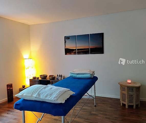 Rückenklang-Massage mit Klangmeditation& Klangbad 60 min