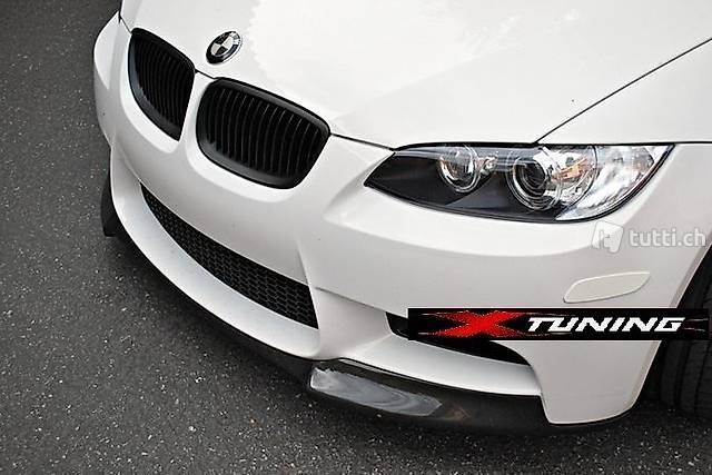 Frontlippe VRS-Typ Carbon BMW M3 E90 E92 E93 spoiler
