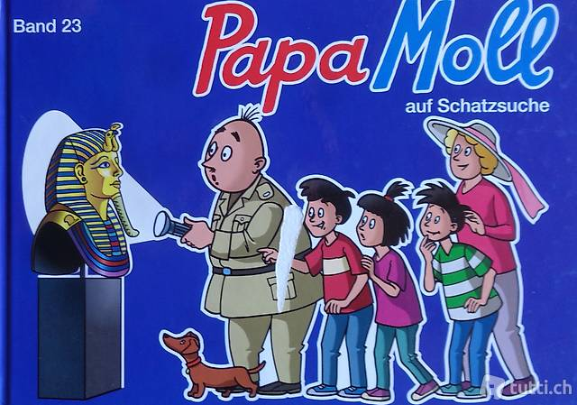 Lendenmann, Papa Moll auf Schatzsuche  Band 23