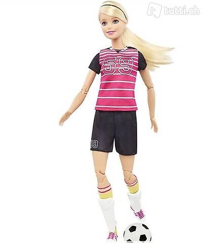 Barbie Fußballspielerin Made to Move