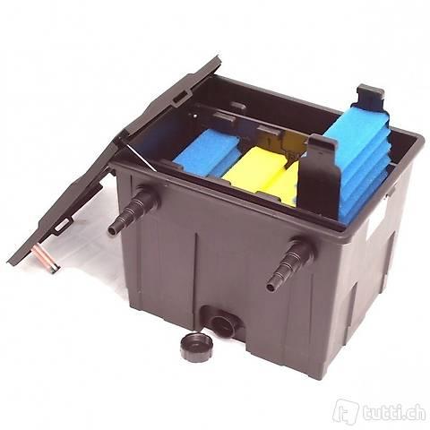 Wasserfilter Teich UVC Lichtfilter Teichfilter CBF 12000L