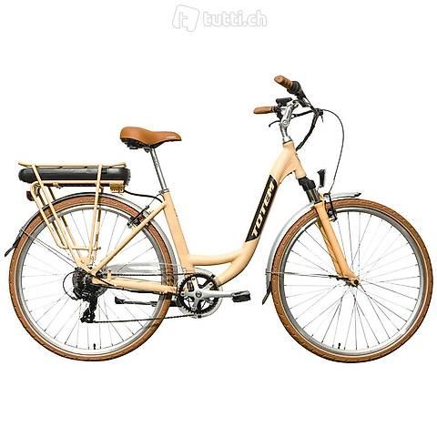 E-Bike City LINDSEY apricot (Gratis Versand)