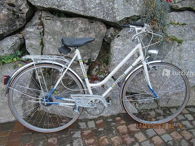 Bike, Damenfahrrad, Damenvelo, LEOPARD, weiss