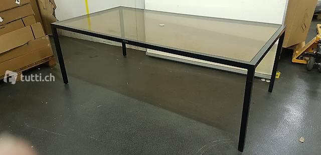 AFFARE invece di 2'200 Tavolo alluminio NUOVO 112x214 cm