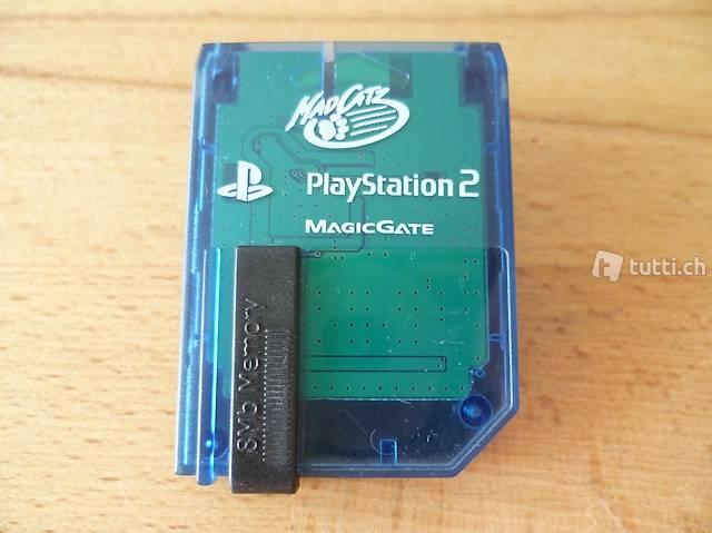 Memory Card für PlayStation 2