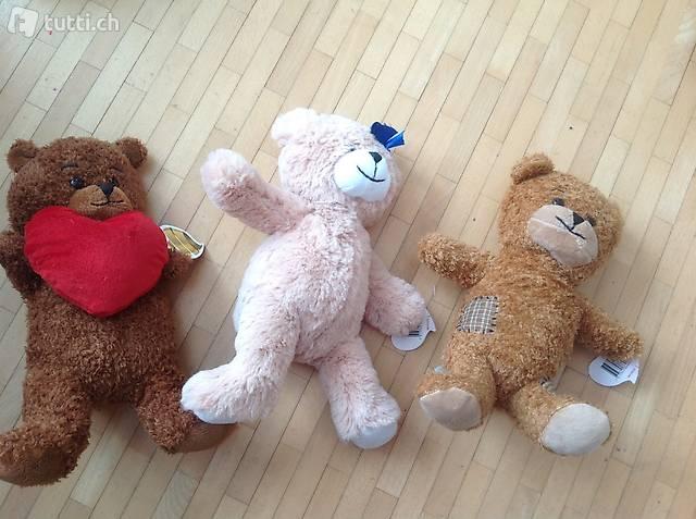 3 migros bären max, mira, miko