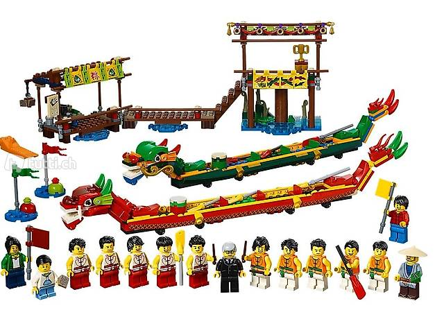 LEGO - Drachenbootrennen - NEU (80103)