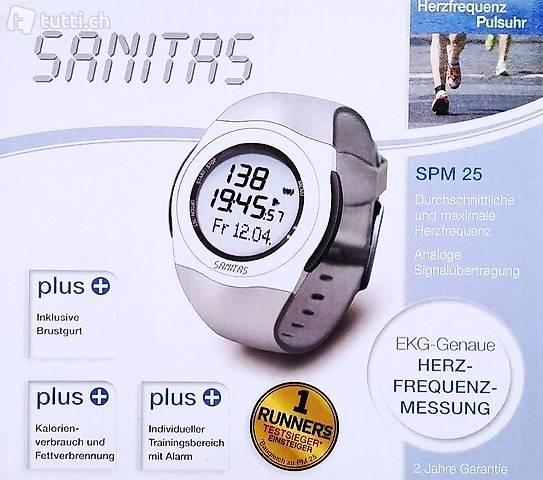 Portofrei SANITAS SPM 25 Pulsuhr mit Brustgurt