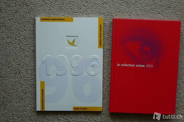 Briefmarken Jahrbücher 1996 - 2003