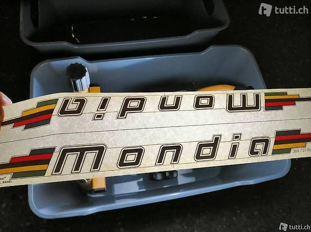 Mondia - Frame Decals / Fahrrad Rahmen Aufkleber - RAR