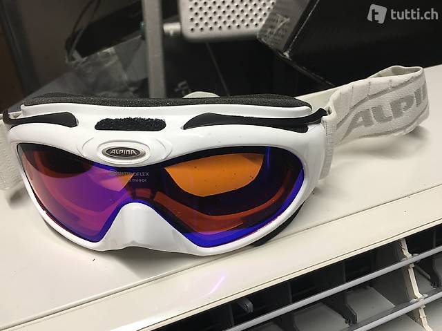 Maschera da sci alpina