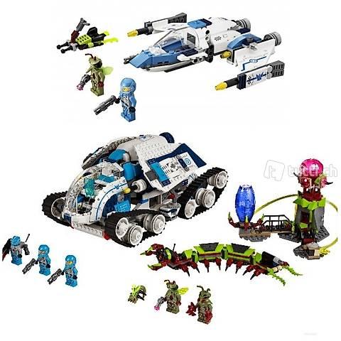 Lego 2x Galaxy Squad, ähnlich Transformers oder MASK