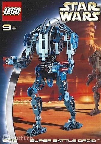 Lego Star Wars Technik 8012 Super Battle Droid