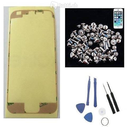 portofrei 3in1 iphone 5 5s 5g Reparatur set 3M kelber + 48 T