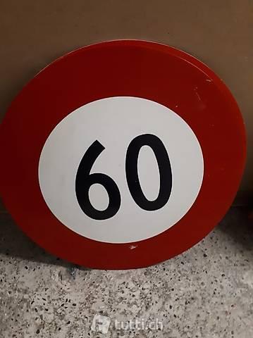 altes Strassenschild 60 Zone Versand inkl! Geburtsjahr 1961