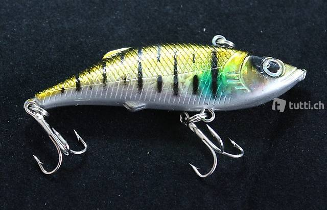 Portofrei 002 Wobbler Fisch Angel Kunst Köder Elritze Bait