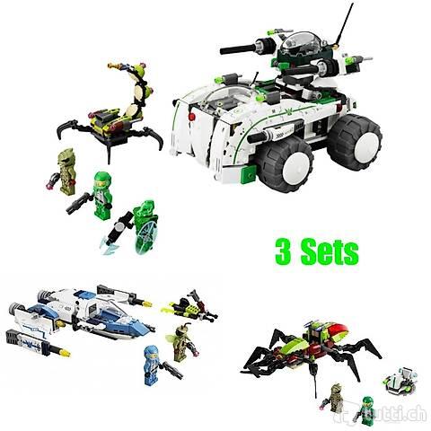 Lego 3x Galaxy Squad, wie M.A.S.K. oder Transformers