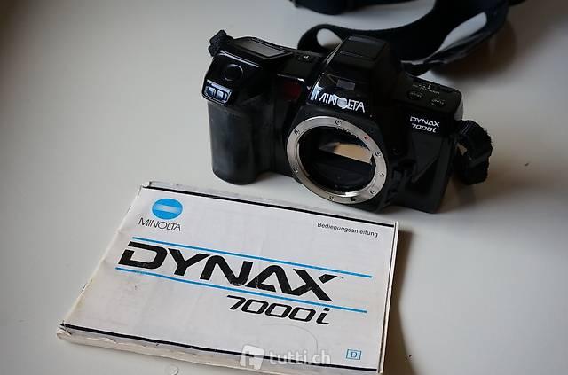 Minolta Dynax 7000i mit Anleitung