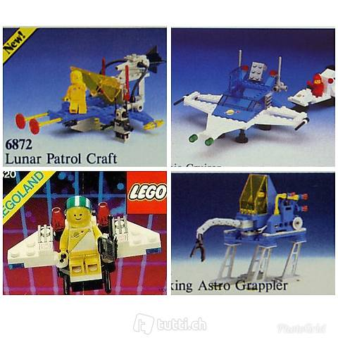 Lego 4x Space Classic MS 04