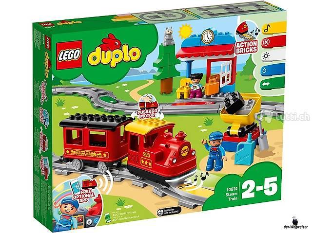 Chemin de fer à vapeur Lego Duplo (10874)