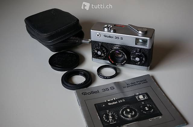 Rollei 35 S mit Rollei-HFT Sonnar 40mm f2.8 EXZELLENT!