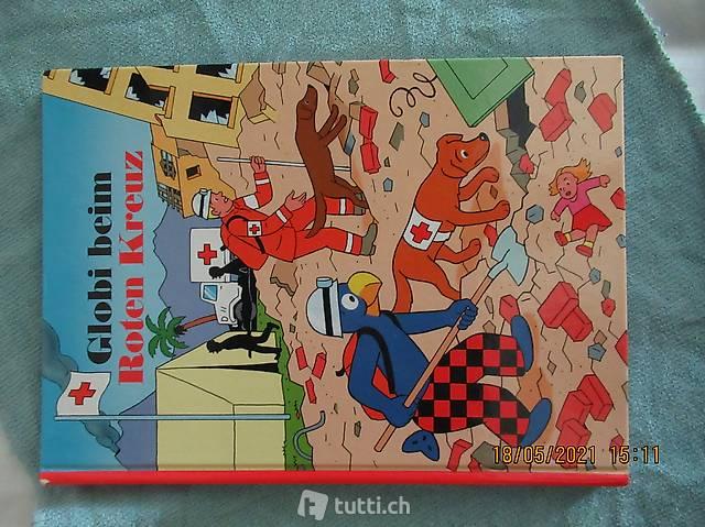 Globi beim roten Kreuz Nummer 73 1. Auflage