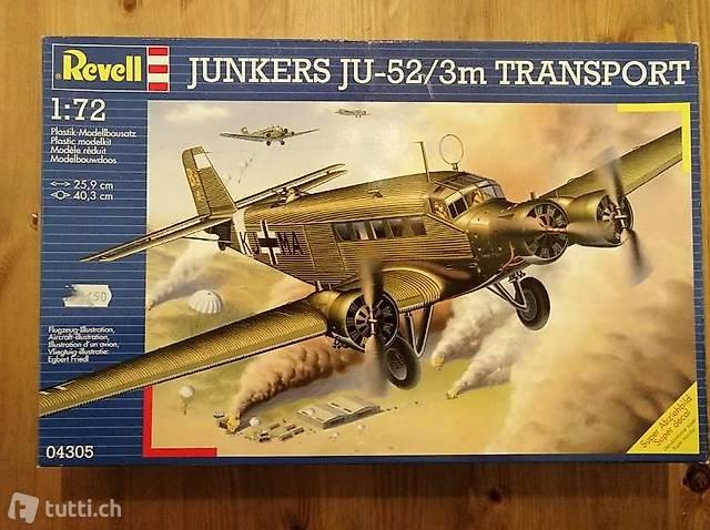 1:72 Revell 04305 - Junkers Ju-52/3m Transport - Modellbau