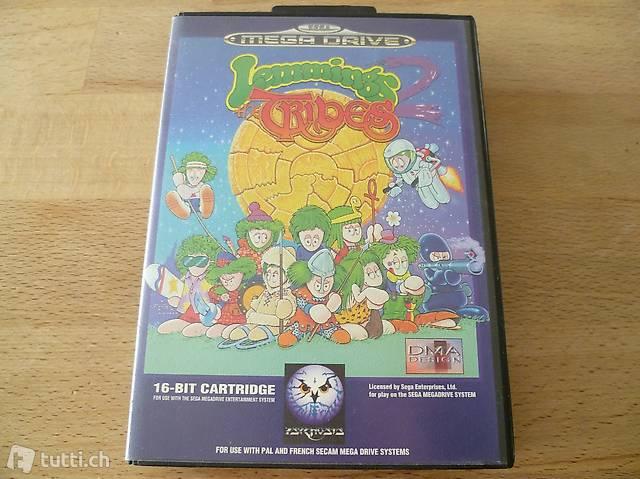 Lemmings 2: The Tribes - SEGA Mega Drive