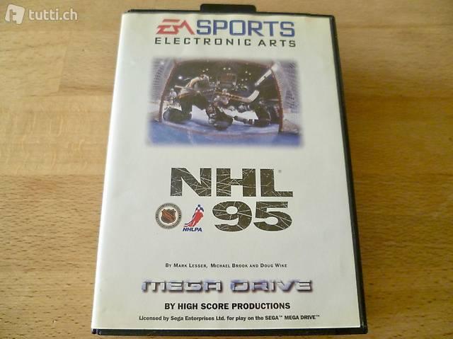 NHL 95 für SEGA Mega Drive