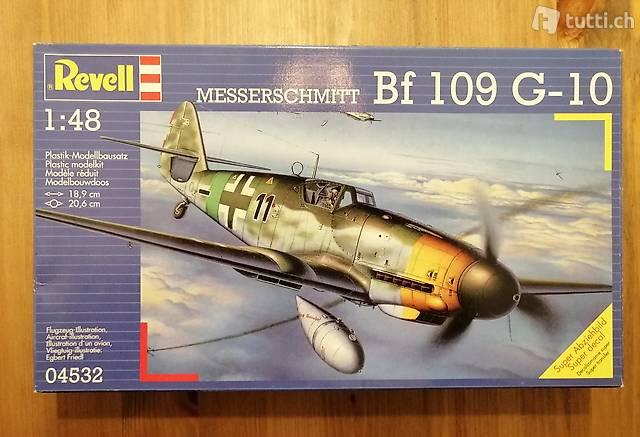 1:48 Revell 04532 - Messerschmitt Bf 109 G-10 - Modellbau