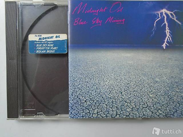 Midnight Oil, CD