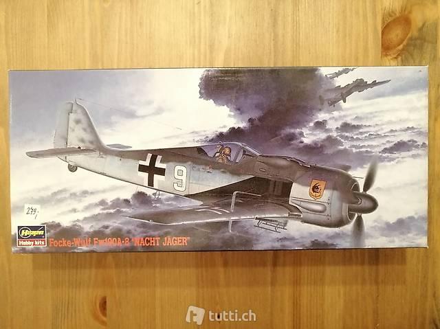 """1:72 Hasegawa 51305 - Focke-Wulf Fw190A-8 """"Nacht Jäger"""""""