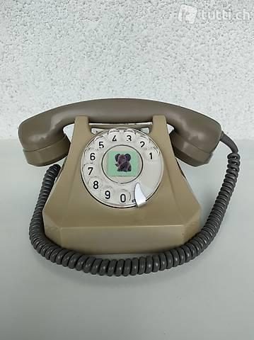 Original Schweizer Telefon grün
