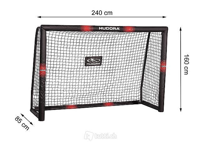 Fussballtor Pro Tect 240 Hudora 76914   240 x 160 x 85