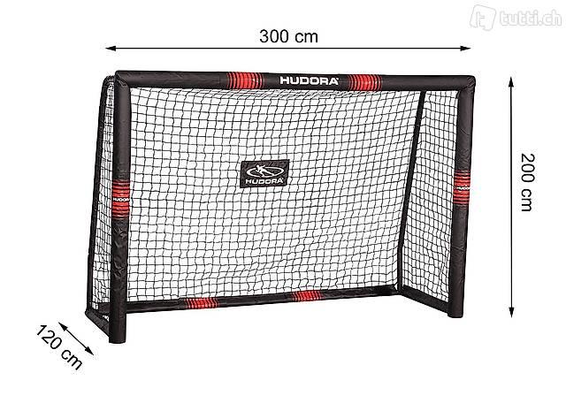 Fussballtor Pro Tect 300 Hudora 76915 300 x 200 x 120 cn