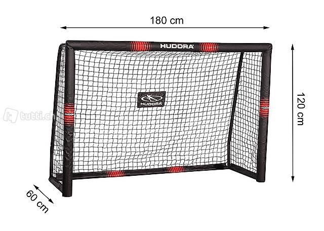 Fussballtor Hudora Pro Tect 180 76913  180 x 120 x 60 cm