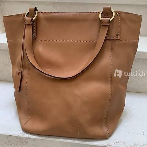 Handtasche natural/cognac XL von GUCCI, Vintage
